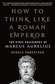 Cover of the How to Think Like a Roman Emperor book